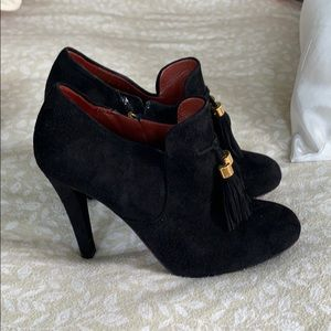 Gucci Suade Stiletto Boots